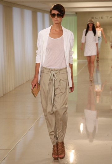 Elie Tahari Spring 2010 NY Fashion Week