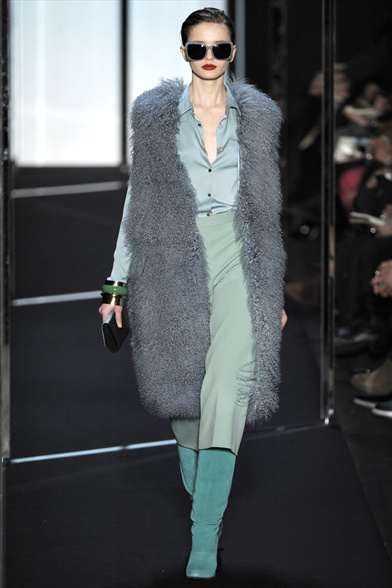Diane Von Furstenberg Fall 2011 N.Y Show