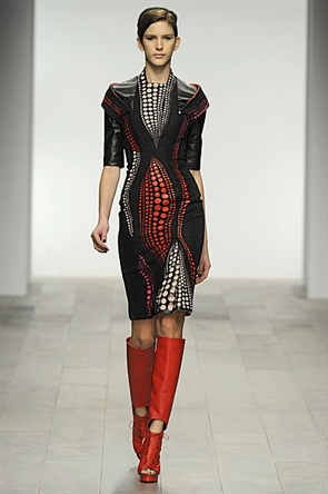 David Koma, David Koma Fall 2011 London Show