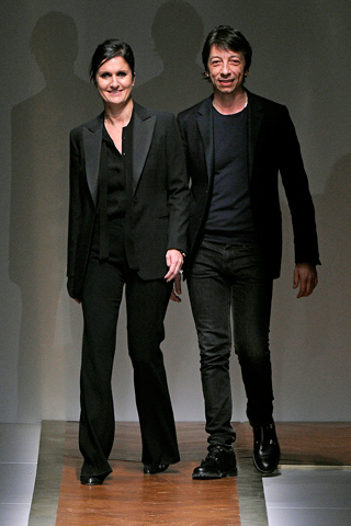 Maria Grazia Chiuri and Pier Paolo Piccioli