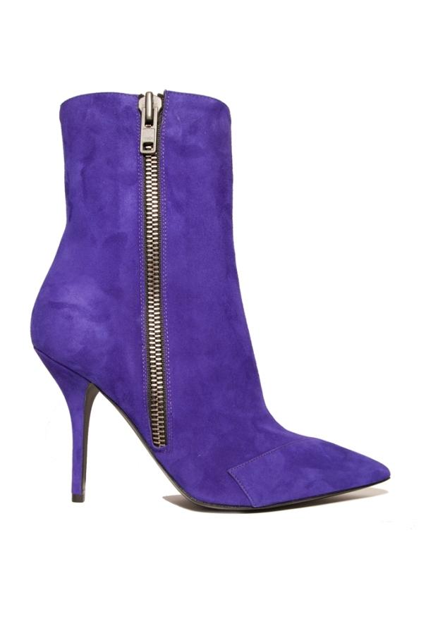 Purple Suede Ankle Boot, Edmundo Castillo Fall 2011 Collection