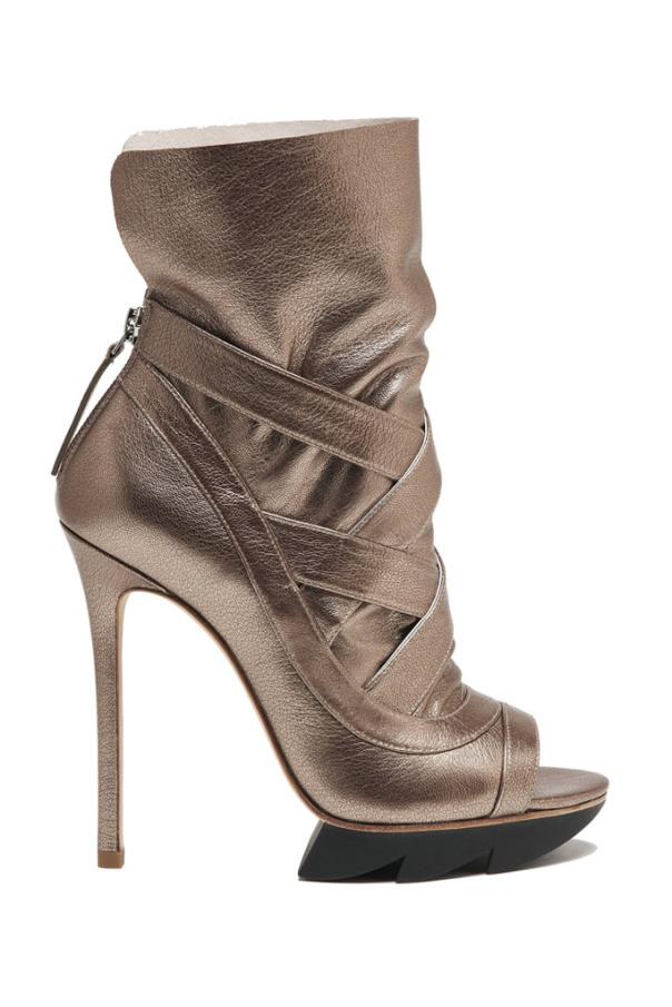 Rose Gold Ankle BootBootie, Camilla Skovgaard Fall 2011 Collection