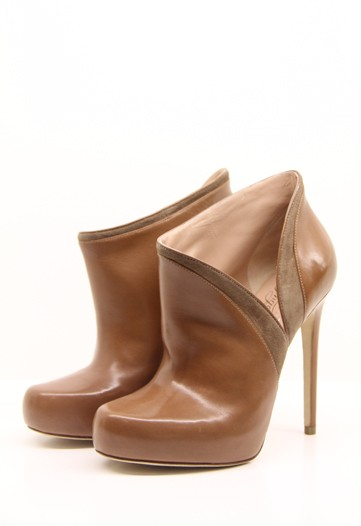 Coffee Brown Ankle Boots, Alejandro Ingelmo Fall 2011
