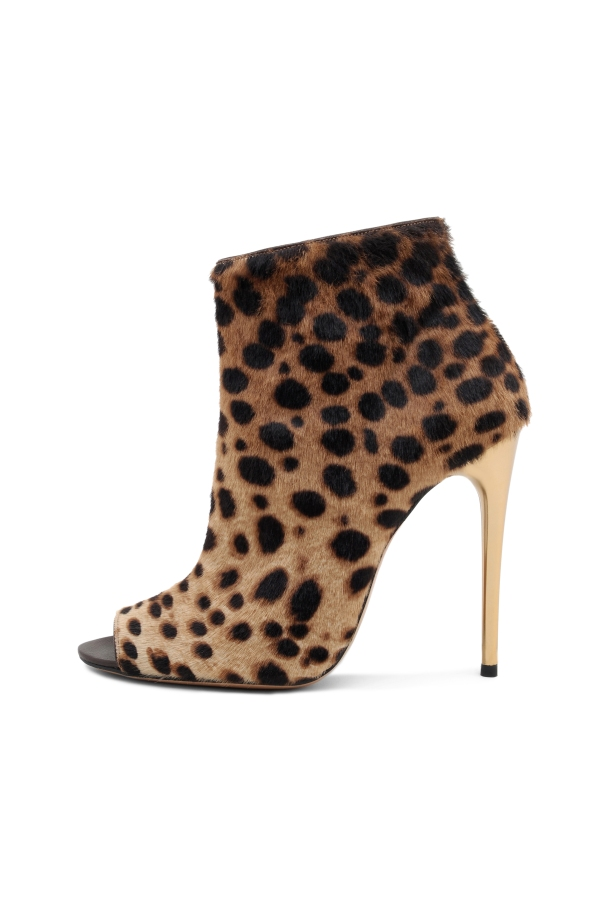 Kalliste' Fall 2011 Collection, Hyena-Print Open-Toe Ankle Boot