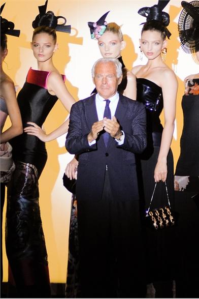 Armani Prive Fall 2011 Haute Couture Show