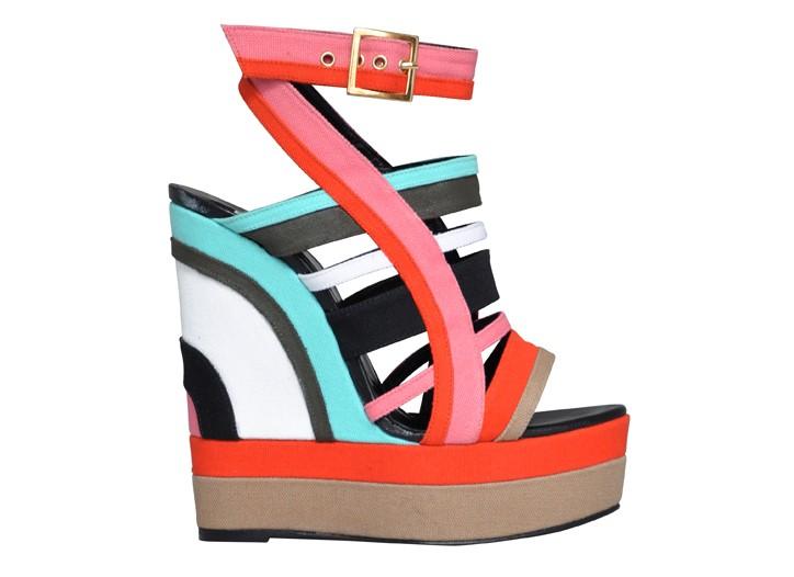 La collezione di scarpe Pierre Hardy per l'inverno 2012