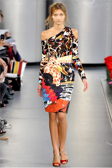 Mary Katrantzou Spring 2012 London Fashion Show