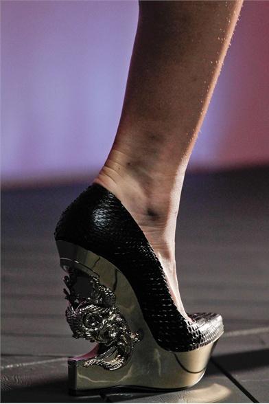 Roberto Cavalli Spring 2012 Milan Fashion Show