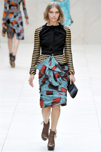 Burberry Prorsum Spring 2012 London Show