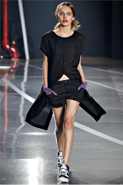Y-3 2012 Spring N.Y Fashion Show