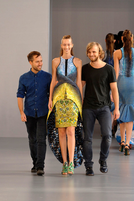 Peter Pilotto Spring 2012 London Fashion Show