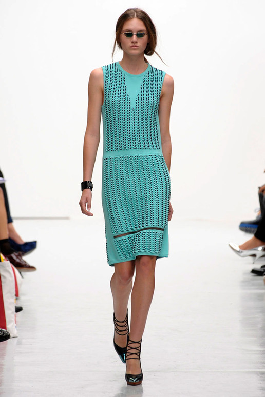 Pringle of Scotland Spring 2012 London Fashion Show