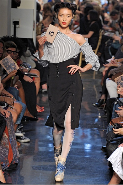 Jean Paul Gaultier Spring 2012 Paris Fashion Show