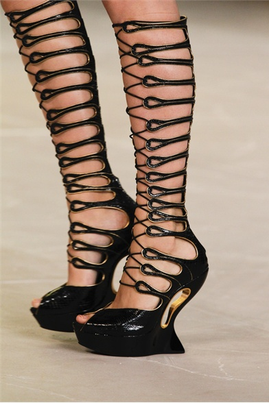 Alexander McQueen Spring 2012 Paris Fashion Show