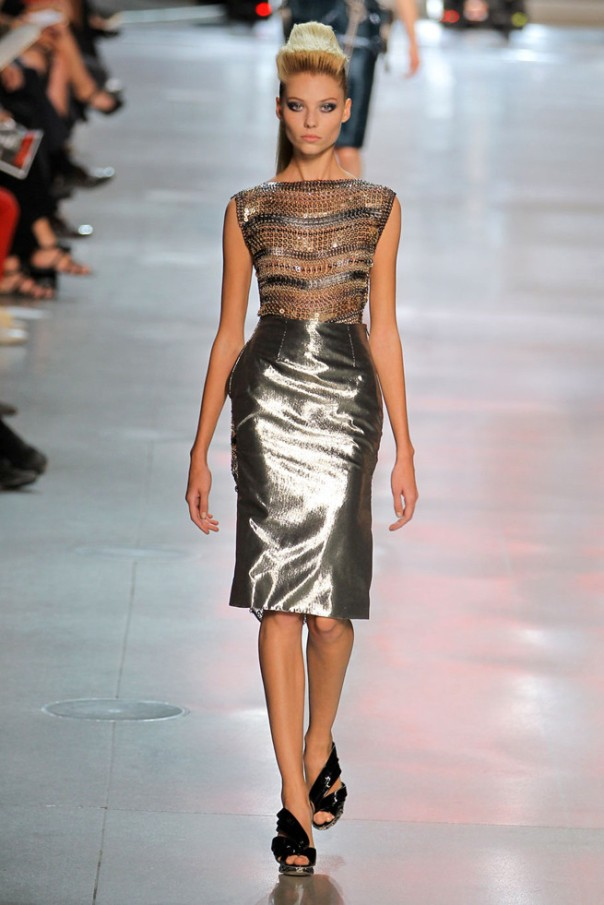 Paco Rabanne Spring 2012 Paris Fashion Show