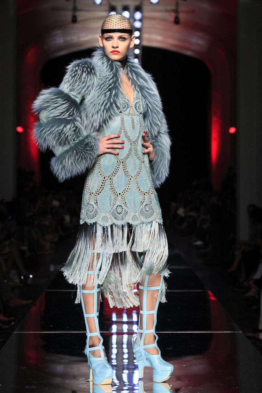 Jean paul gaultier fall 2012 haute couture show r a w for Haute couture show