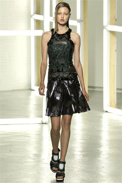 Rodarte Spring 2013 New York Fashion Week Show
