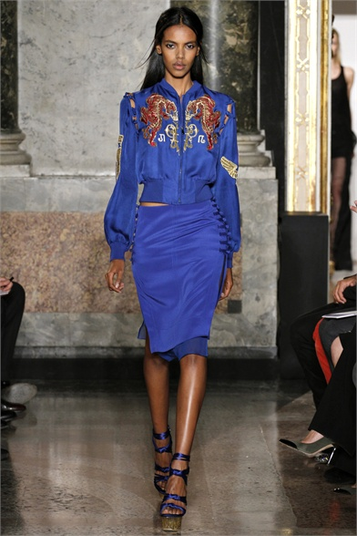 Emilio Pucci Spring 2013 Milan Fashion Week Show
