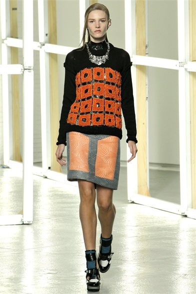 Rodarte New York Spring 2013 Fashion Week Show