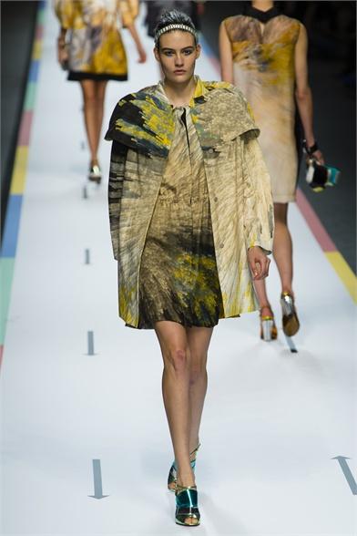 Fendi Spring 2013 Milan Fashion Week Show