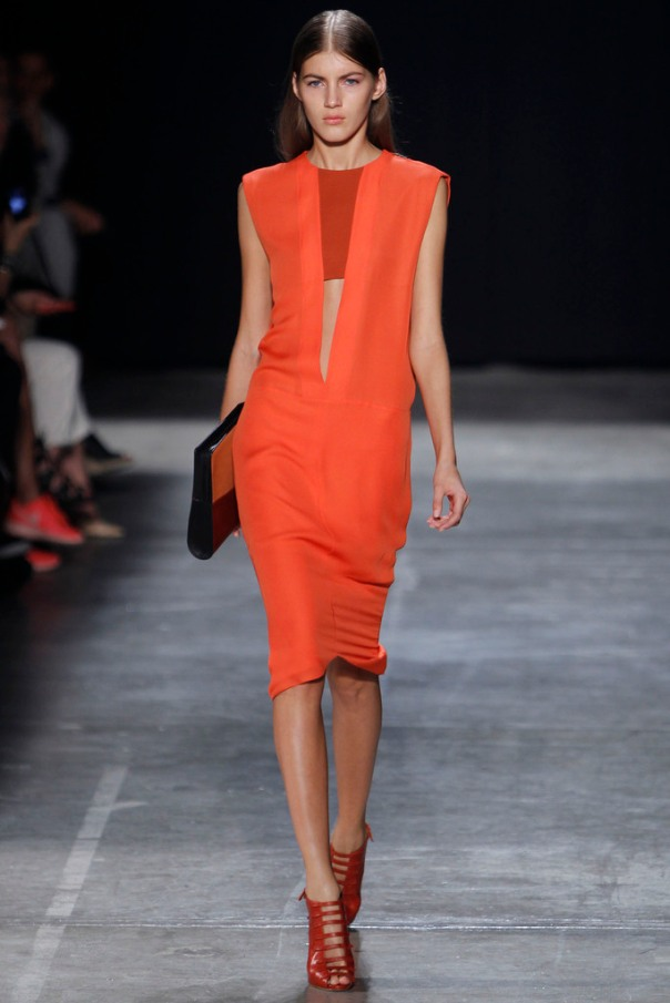 Narciso Rodriguez Spring 2013 New York Fashion Week Show