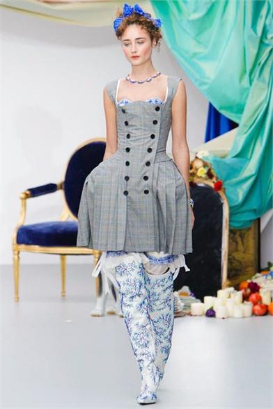Meadham Kirchhoff Spring 2013 London Fashion Week Show